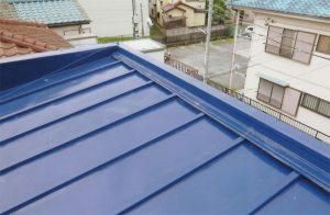 トタン瓦棒屋根重ね葺き工事