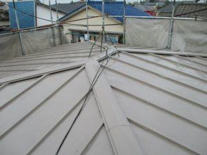 棟交換してからの屋根塗装 サーモアイSi